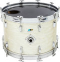 Musical Instruments:Drums & Percussion, Circa 1970s Ludwig White Pearl Kick Drum, Serial #761435....