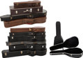 Musical Instruments:Miscellaneous, Group of Twelve Hardshell Guitar Cases.... (Total: 12 )