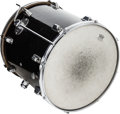 Musical Instruments:Drums & Percussion, Circa 1960s Rogers Black Floor Tom Drum....