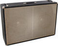Musical Instruments:Amplifiers, PA, & Effects, Circa 1967 Fender Bassman/Bandmaster Black Bass Speaker Cabinet,Serial # P05192....