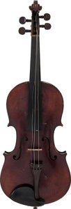 Musical Instruments:Violins & Orchestra, Circa 1900s Salvadore Durro Amati Copy Brown Violin....