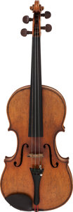 Musical Instruments:Violins & Orchestra, Circa 1920s German Stradivarius Copy Brown Violin....