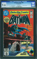 Modern Age (1980-Present):Superhero, Detective Comics #498 (DC, 1981) CGC NM+ 9.6 White pages.