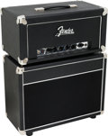 Musical Instruments:Amplifiers, PA, & Effects, Circa 2008 Fender Blues Junior Black Guitar Amplifier, Serial #B050317.... (Total: 2 )