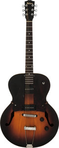 Musical Instruments:Electric Guitars, Circa 1940s Gibson ES-150 Sunburst Hollow Body Electric Guitar....