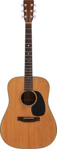 Musical Instruments:Acoustic Guitars, 1977 Martin D-18 Natural Acoustic Guitar, Serial #393373....