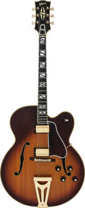 Musical Instruments:Electric Guitars, 1968 Gibson Super 400 CES Sunburst Hollow Body Electric Guitar, Serial #552019....