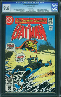 Detective Comics #509 (DC, 1981) CGC NM+ 9.6 White pages