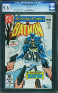 Modern Age (1980-Present):Superhero, Detective Comics #514 (DC, 1982) CGC NM+ 9.6 White pages.