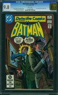 Modern Age (1980-Present):Superhero, Detective Comics #516 - GOLDEN STATE COLLECTION (DC, 1982) CGC NM/MT 9.8 White pages.