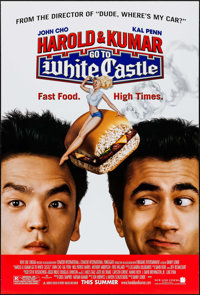 "Harold and Kumar Go to White Castle & Others Lot (New Line, 2004). One Sheets (5) (27"" X 40"") DS Advance..."
