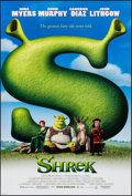 "Movie Posters:Animation, Shrek (DreamWorks, 2001). One Sheets (4) (27"" X 40"") DS Regular andAdvance Styles. Animation.. ... (Total: 4 Items)"