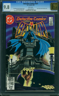 Detective Comics #537 - GOLDEN STATE COLLECTION (DC, 1984) CGC NM/MT 9.8 White pages