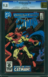 Detective Comics #538 - GOLDEN STATE COLLECTION (DC, 1984) CGC NM/MT 9.8 White pages