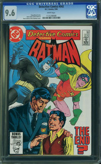 Detective Comics #542 (DC, 1984) CGC NM+ 9.6 White pages