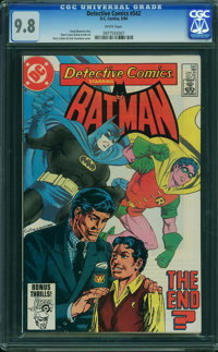 Detective Comics #542 (DC, 1984) CGC NM/MT 9.8 White pages