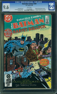 Detective Comics #549 (DC, 1985) CGC NM+ 9.6 White pages