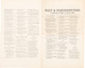 Political:Small Paper (pre-1896), Henry Clay: 1844 Campaign Song Sheet....