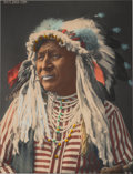 Western Expansion:Indian Artifacts, F. A. Rinehart: Large Format Colorized Photograph....