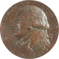 George Washington: Commemorative Bronze Plaque