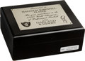 Football Collectibles:Others, 1980 Oakland Raiders Super Bowl Championship Ring Box (No Ring) Presented to Malcolm Barnwell....