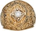 "Baseball Collectibles:Others, 1958 New York Yankees World Championship Ring Presented to Bill ""Moose"" Skowron...."