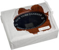 Baseball Collectibles:Others, 2001 New York Yankees American League Championship Ring Display Box(No Ring)....