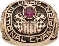 Miscellaneous Collectibles:General, 1973 United States Auto Club National Champion Third Place Ring....