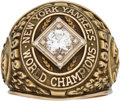 Baseball Collectibles:Others, 1952 New York Yankees World Series Championship Salesman's Sample Ring....