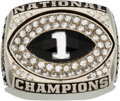 Football Collectibles:Others, 2003 LSU Tigers National Championship Ring.. ...