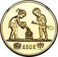 "China, China: People's Republic gold ""Year of the Child"" Proof 450 Yuan 1979 PR67 NGC,..."