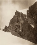 Photographs, Jean Claude White (1853-1918). View Looking North from Chorten Nyima La, Tibet, circa 1880-90. Carbon print. 11-3/8 x 9-...