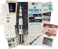 Explorers:Space Exploration, NASA-Related: Collection of Original Publications (Ten),1962-1972.... (Total: 10 Items)