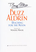 Autographs:Celebrities, Buzz Aldrin Signed Book: Reaching For The Moon, Originallyfrom His Personal Collection....