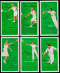 Non-Sport Cards:Sets, 1936 John Player & Son Tennis Complete Set (50)....