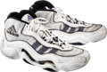 Basketball Collectibles:Others, 1998 Kobe Bryant Game Worn, Signed Los Angeles Lakers Sneakers....