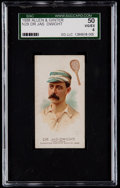 Olympic Cards:General, 1888 N29 Allen & Ginter Dr. James Dwight SGC 50 VG/EX 4....