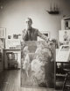 Gordon Converse (American, 1921-1999) Portraits of Norman Rockwell in his studio, Stockbridge, MA (three photographs)...