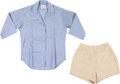 Political:Presidential Relics, Jacqueline Kennedy: Personally-Owned Blouse and Shorts.... (Total: 2 Items)