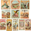 Advertising:Tobacciana, Collection of 19th Century Tobacco Crate Labels....