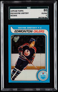 Hockey Cards:Singles (1970-Now), 1979 Topps Wayne Gretzky #18 SGC 80 EX/NM 6....