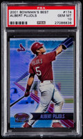Baseball Cards:Singles (1970-Now), 2001 Bowman's Best Albert Pujols #174 PSA Gem Mint 10....