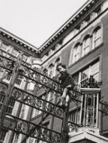 Photographs, Fred Stein (German, 1909-1967). Gate, New York, 1944. Gelatin silver, printed later. 11-1/4 x 8-1/2 inches (28.6 x 21.6 ...