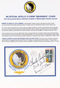 "Explorers:Space Exploration, Apollo 12 Crew-Signed ""Type One"" Insurance Cover Originally fromthe Personal Collection of Mission Commander Charles Conrad, ..."
