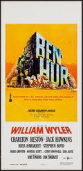 "Movie Posters:Academy Award Winners, Ben-Hur (MGM, R-1969). Italian Locandina (13.25"" X 27.75""). AcademyAward Winners.. ..."