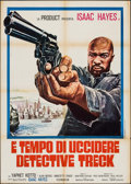 "Movie Posters:Blaxploitation, Truck Turner (American International, 1974). Italian 2 - Fogli (39"" X 55""). Blaxploitation.. ..."