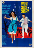 "Movie Posters:Academy Award Winners, West Side Story (United Artists, R-1966). Italian 2 - Fogli (39.25""X 55""). Academy Award Winners.. ..."