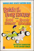 "Movie Posters:Animation, Battle of the Drag Racers (Warner Brothers, 1966). One Sheet (27"" X41""). Animation.. ..."