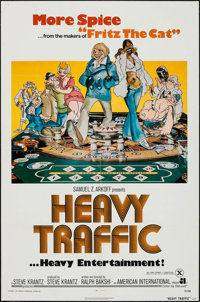 "Heavy Traffic (American International, 1973). One Sheet (27"" X 41""). Animation"