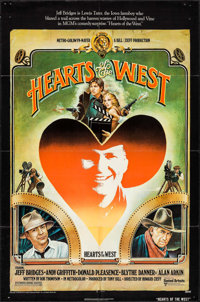 "Hearts of the West & Other Lot (United Artists, 1975). One Sheet (27"" X 41""), Program (14 Pages, 8.5""..."